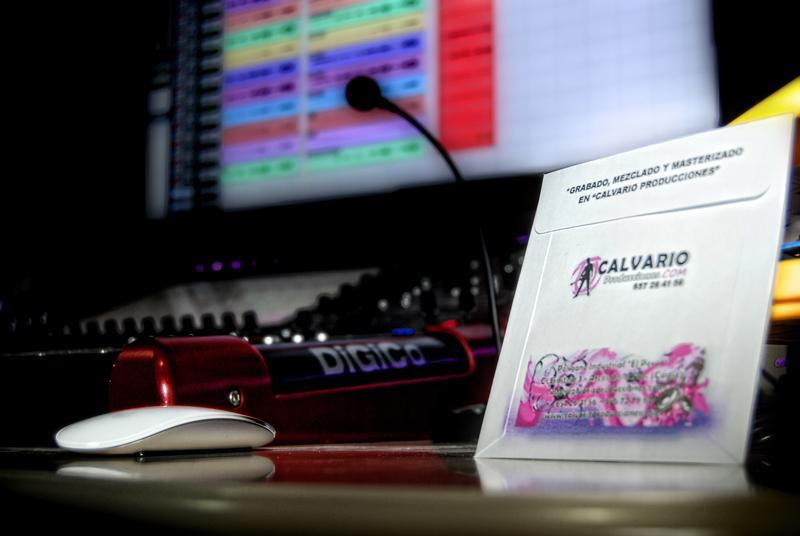 Estudio de grabación de Calvario Producciones